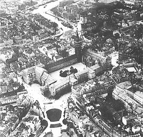 Targeted - Aerial photo of Konigsberg Castle