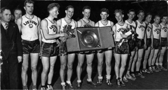 The first great Lithuanian National Basketball Team - EuroBasket 1937 champions