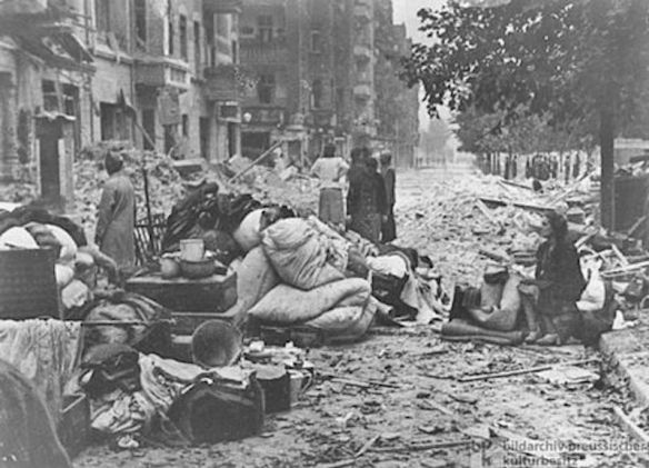 The misery of war - Heiligenbeil Pocket in 1945