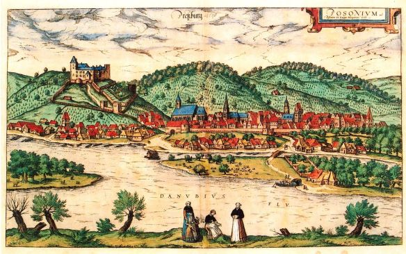 Pozsony in the 16th century