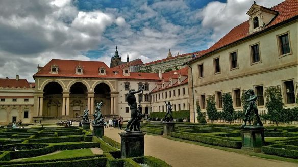 Wallenstein Palace - in Prague's Mala Strana District