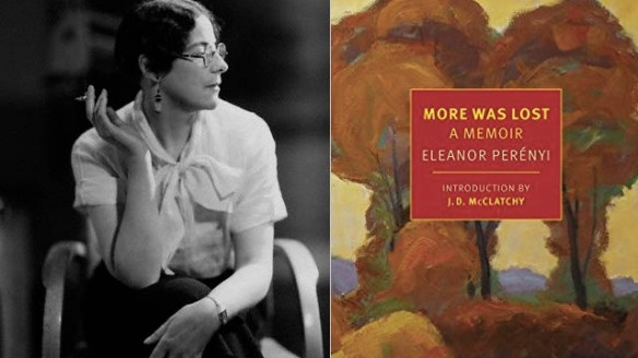 Eleanor Perenyi - Author of More Was Lost: A Memoir