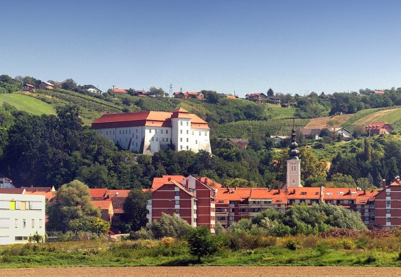 Lendava - with the Esterhazy chateau above the town