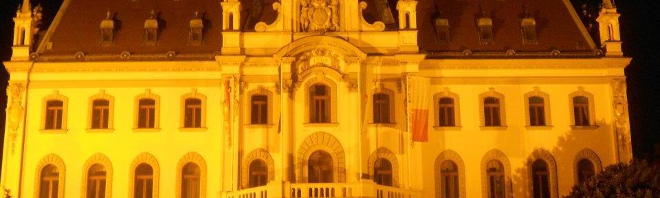 Main building of Ljubljana University - at Congress Square (Congresni Trg)