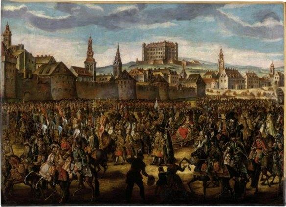 Maria Theresa coronation in 1741 - Bratislava
