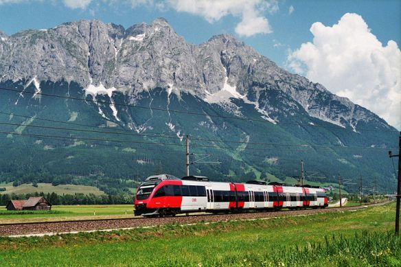 Riding the rails across Austria