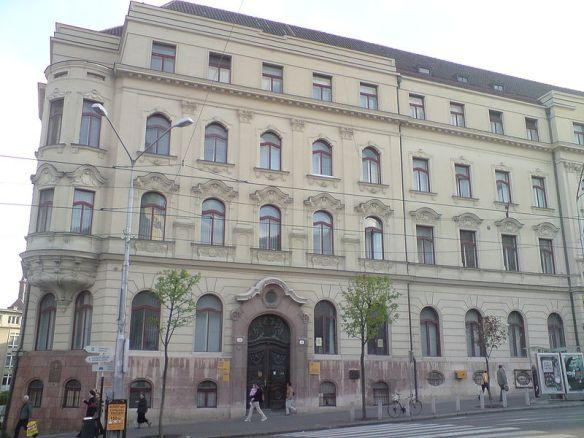 Slovak posta on Námestie SNP - Bratislava