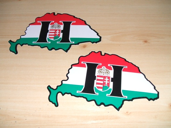 Stuck on it - Pre-Trianon Hungary stickers