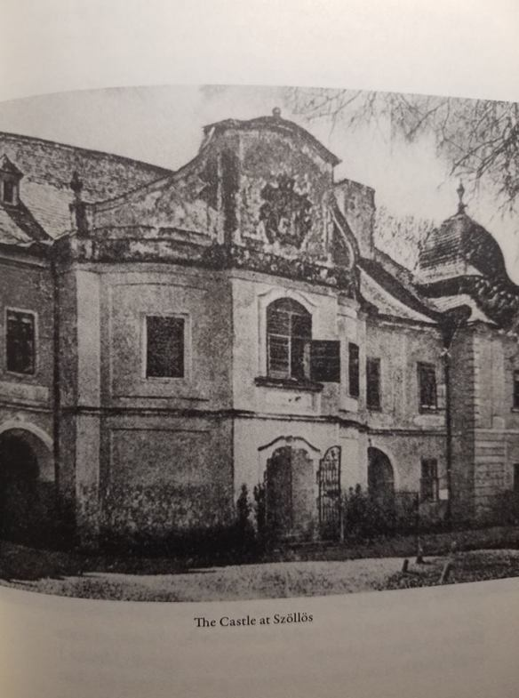 The Castle at Szollos - during the 1930s