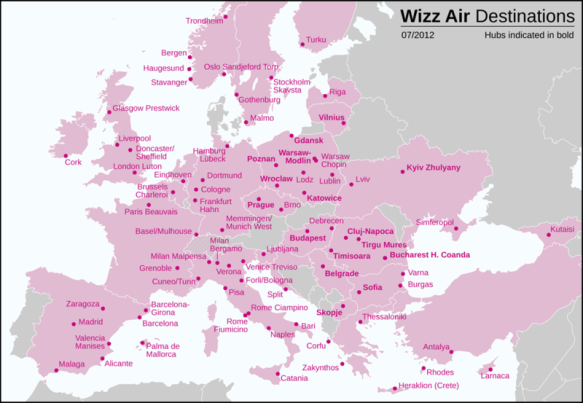 Wizz Air - Connecting Eastern and Western Europe
