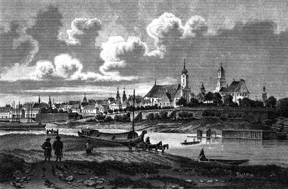 A history worth discovering - Boats at Gyor in 1845