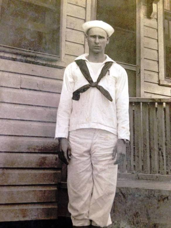 "My Grandfather - Hawley ""Doc"" Hunter 1896 -1990, U.S. Navy World War I"
