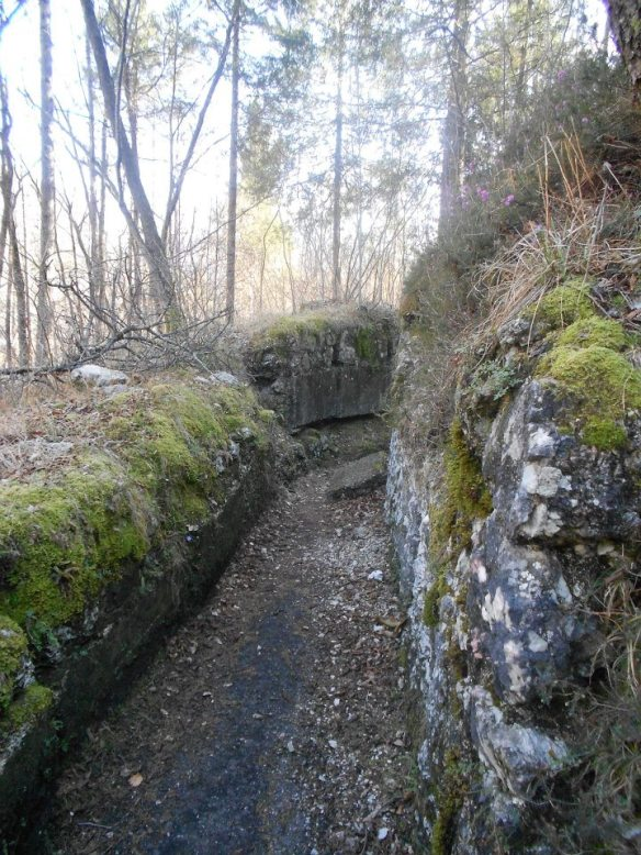 In the trenches - Italian Line of Defense, Soca River Valley