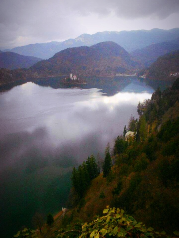 Lake Bled - The view from Bled Castle