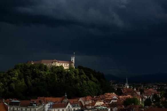 Ljubljana Castle & Slovenia - Light In The Storm