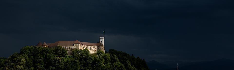Ljubljana Castle & Slovenia - Light In The Storm