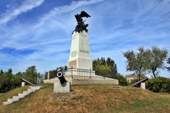 Monument to the Battle of Raab - On the outskirts of Gyor, Hungary