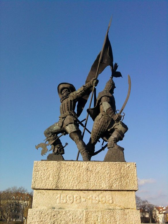 Schwarzenberg-Palffy Monument - In honor of the Liberation of Gyor