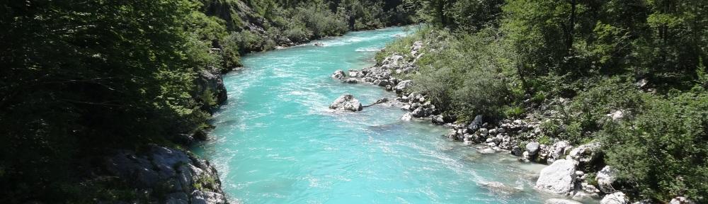 The Soca (Isonzo) River near Kobarid