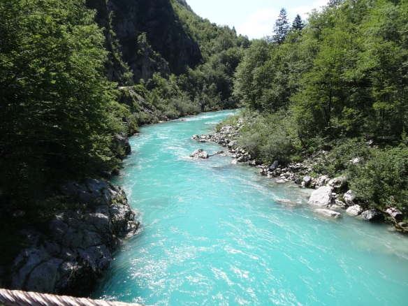 The Soca (Isonzo) River near Kobarid