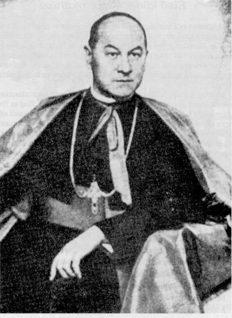 Bishop Vilmos Apor