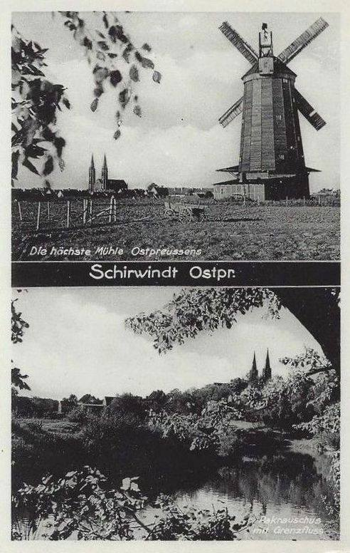 Calm before the war - Scenes from Schirwindt in 1927
