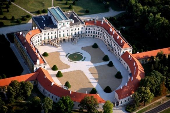 Esterhaza Palace - Aerial view