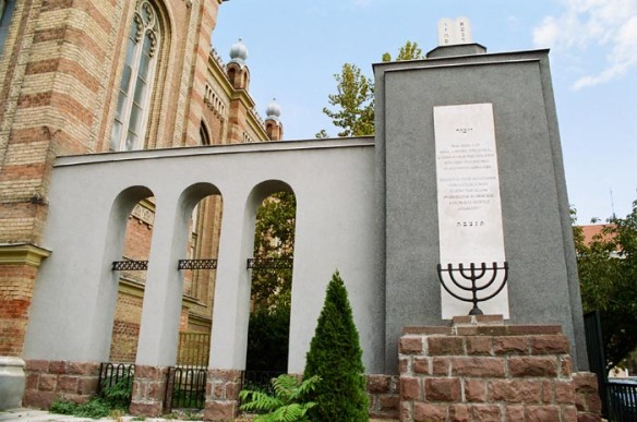 Holocaust Memorial in Szombathely