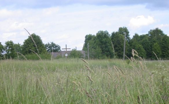 Location of Immanuel Church in Schirwindt as it looks today