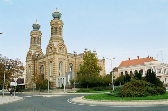 Neolog Synagogue in Szombathely - As seen from Bathyany Square