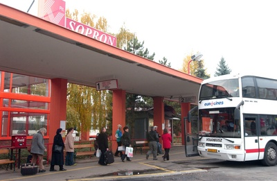 Taken for a ride - Sopron Bus Station