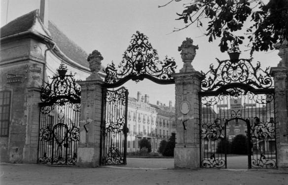 Waiting for a return - The Gates to Esterhaza in 1956