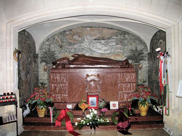 The Tomb of Vilmos Apor in Gyor Cathedral