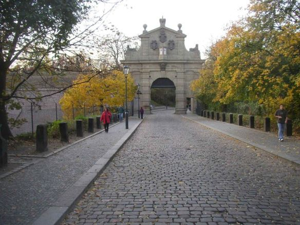 A portal to a deep past - The Leopold Gate at Vysehrad