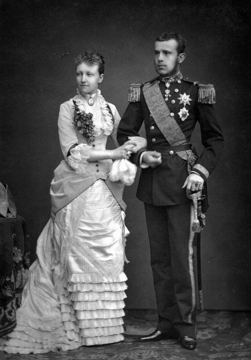 An unhappy marriage - Crown Prince Rudolf and Princess Stephanie