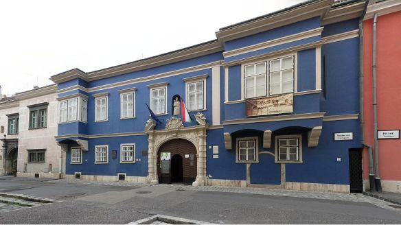 Esterhazy Palace in Sopron