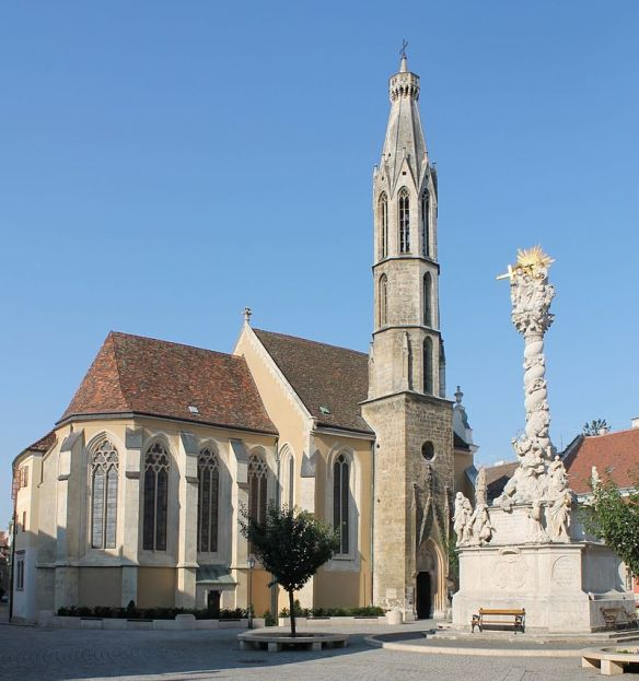Goat Church & Holy Trinity Column in Sopron