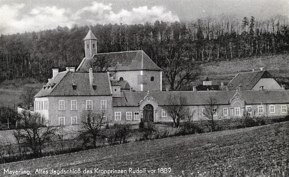 Scene of the crime - Mayerling Hunting Lodge of Crown Prince Rudolf in 1889
