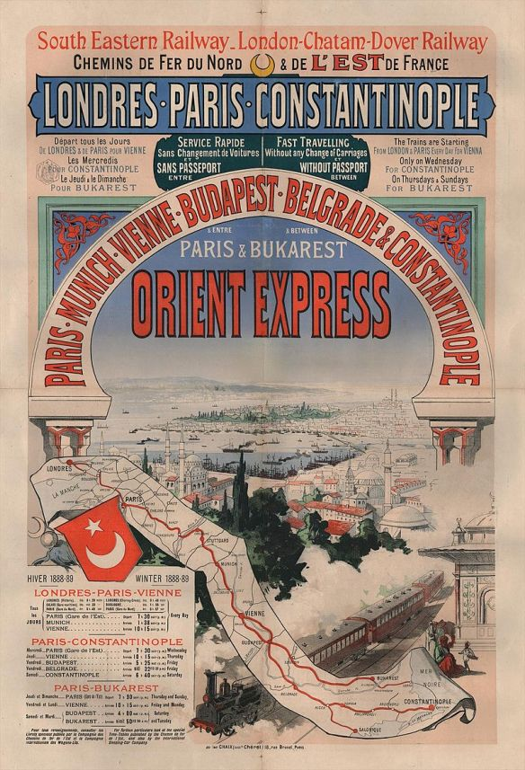 Orient Express - Advertising Poster