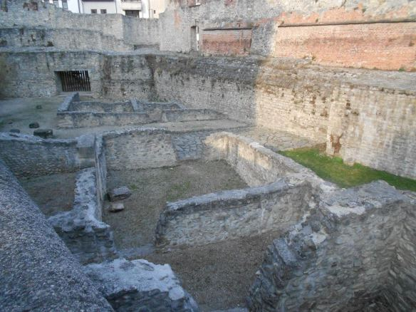 Ruins of Scarbantia in Sopron