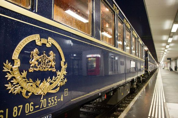 Logo of the Compagnie Internationale Des Wagons-Lits which ran the Orient Express