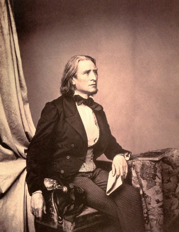 Franz Liszt - The photo is from three years before the attempted marriage with Countess zu Sayn-Wittgenstein