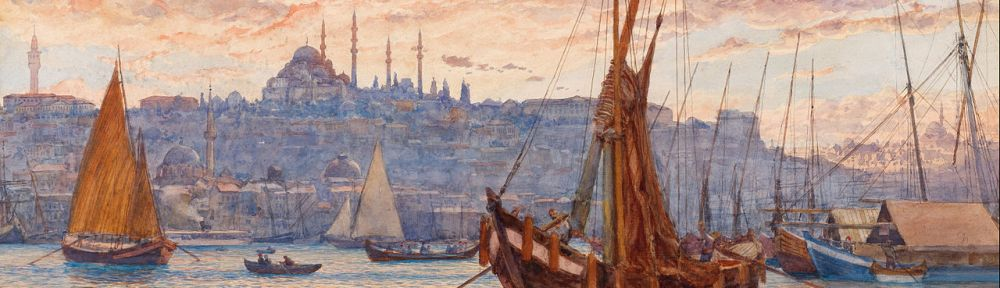 View of the Golden Horn from the late 19th century