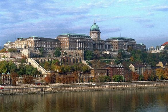 Impressive & imposing - Looking over the Danube at Buda Castle