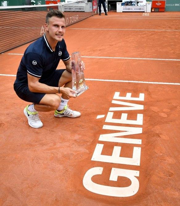 Marton Fucsovics - 2018 Geneva champion