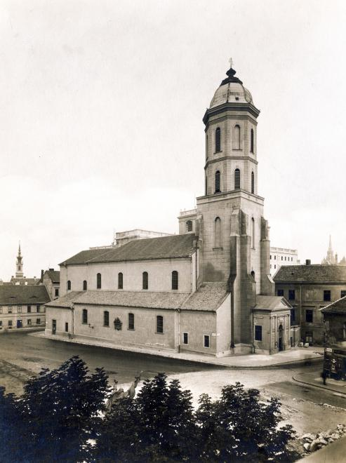 Tower of the Church of Mary Magdelene prior to wartime destruction