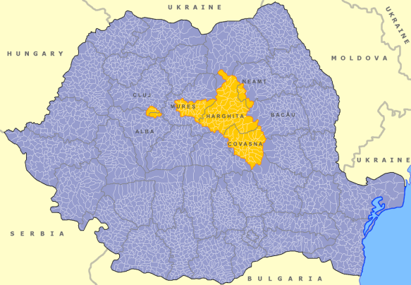 A Transylvanian Frontier - Szekely Land in Romania