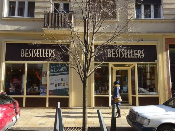 Bestsellers Bookstore in Budapest