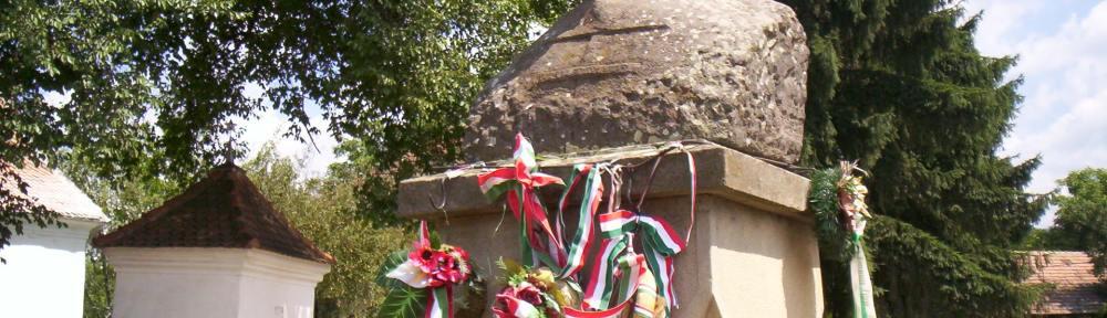 Bust of Sandor Csoma Korosi - In Chirius (Koros) Romania