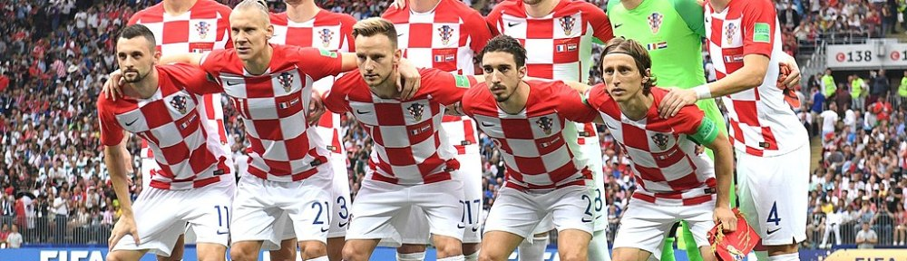 Croatian national team starters - Ready for the World Cup final